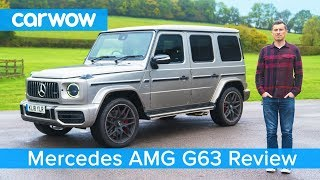 Video Mercedes-AMG G63 SUV 2019 in-depth review - see why it's worth £150,000! MP3, 3GP, MP4, WEBM, AVI, FLV November 2018