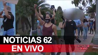 Protestan por caída de afroamericano en San Clemente – Noticias 62 - Thumbnail