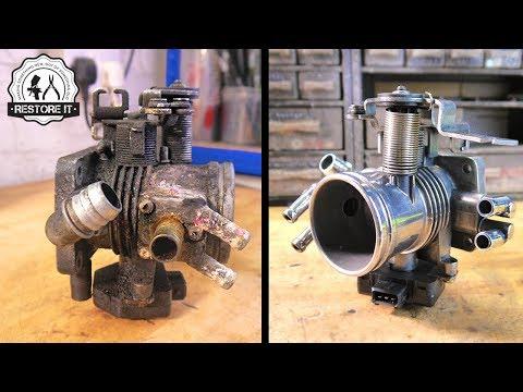 BMW E30 Throttle Body Restoration | BMW E30 325i Sport Restoration Project E5 S1