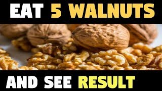 Eat 5 Walnuts, Wait for 4 Hours and See the Results Amazing! is very informative video you can watch more like this to subscribe to our channel for daily upd...