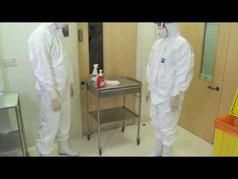 Removal of PPE