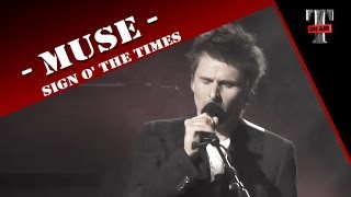Video Muse - Sign O' The Times (Live on TV show  TARATATA Oct. 2012) MP3, 3GP, MP4, WEBM, AVI, FLV November 2017