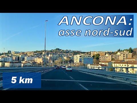 ANCONA: asse Nord - Sud видео