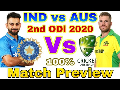 India vs Australia 2nd ODi Preview - 17 January 2020 | Playing 11 | IND vs AUS | Rajkot