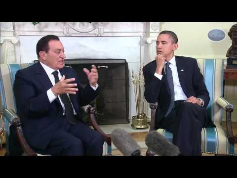 mubarak - August 19, 2009 | 24:54 President Barack Obama and President Mubarak of Egypt address the press after meetings at the White House on the prospects of peace i...