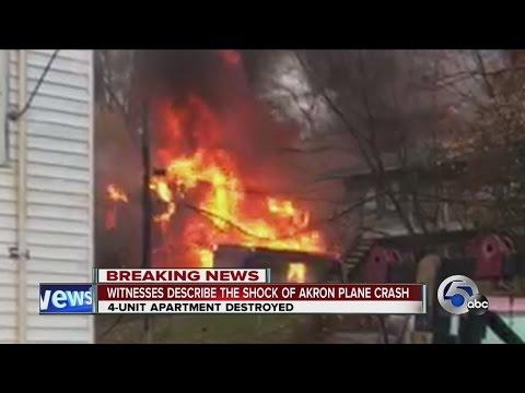 Witnesses describe deadly Akron plane crash
