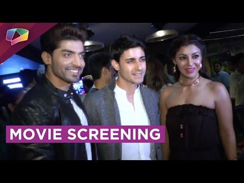 Gurmeet Chaudhary's new movie's screening