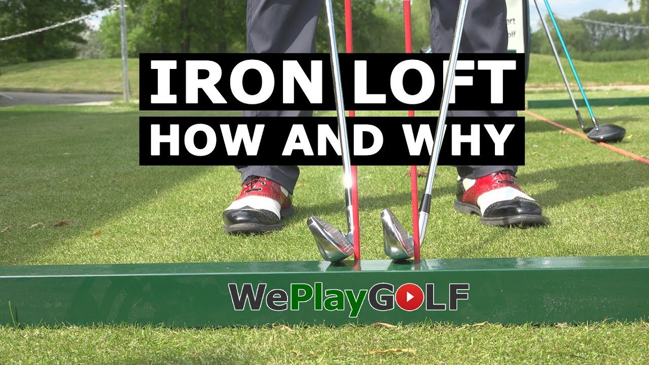 Control the loft of your IRONS - This is why you can PUNCH DOWN onto the golf ball