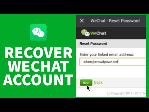 Blocked wechat unlock login allowed self-service Unlock Wechat