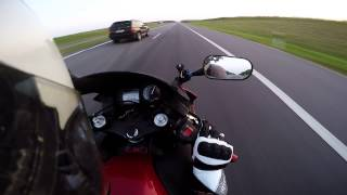 10. Top Speed!!!Honda CBR 600 F4I
