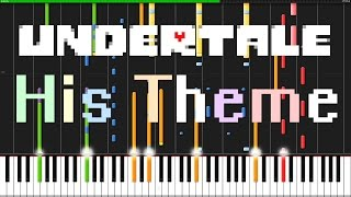 His Theme - Undertale [Piano & Orchestra] // PianoPrinceOfAnime