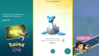 Problemas Atualização Pokémon GO + Lista completa de KM para os Pokémon Buddy by Pokémon GO Gameplay