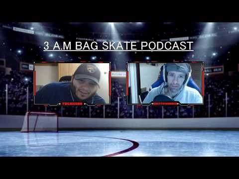 EPISODE #3 of the 3 A.M Bag Skate Hockey Podcast! Review of week #1 of the 2019-20 NHL season!