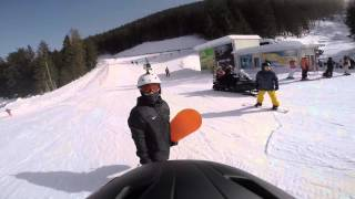Bansko Bulgaria  City new picture : Snowboarding 2015 - Bansko, Bulgaria