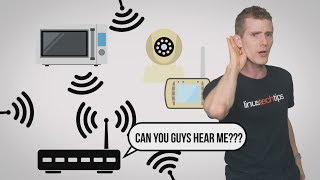 """Ever wonder why your Wi-Fi suddenly cuts out without warning?Freshbooks message: Head over to http://freshbooks.com/techquickie and don't forget to enter Tech Quickie in the """"How Did You Hear About Us"""" section when signing up for your free trial.Techquickie Merch Store: https://www.designbyhumans.com/shop/L...Techquickie Movie Poster: https://shop.crowdmade.com/collection...Leave a comment with your requests for future episodes, or tweet them here: http://twitter.com/jmart604Follow: http://twitter.com/linustechJoin the community: http://linustechtips.comLicense for image used: https://creativecommons.org/licenses/by/3.0/legalcode"""