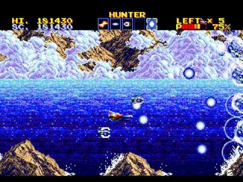 thunder force iv megadrive rom
