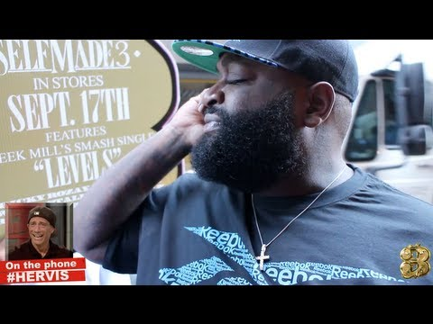 tmz - MMZ BACK!!! Rick Ross makes TMZ cameraman #CLEVIS call Harvey Levin #HERVIS. Get The New Album #SELFMADE3 Available Now - http://bit.ly/SM3Album.