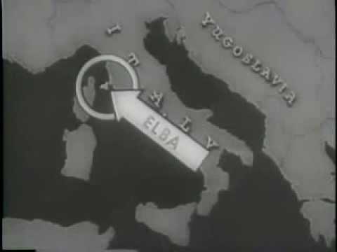 Cinegiornale statunitense sulla liberazione dell'Isola d'Elba durante la seconda guerra mondiale.