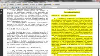 Umh0455 2013-14 Lec001 El Sistema Escolar Español. Tipología De Centros Escolares. Parte 033 FP