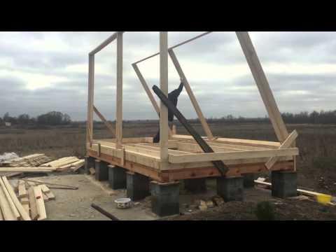 Бюджетное строительство дома своими руками от и до