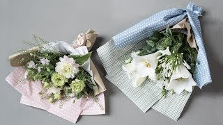 """Oh, the joy of giving, as the sisters always say. In this video, Anna would like to show you how you can make wonderful hostess gifts. Arrange a radiant bouquet and wrap it nicely in gift wrap and tissue paper. Find more creative ideas here: http://sostrenegrene.com/diy-corner/Find the products from the video in your local Søstrene Grene shop.Remember to press the """"thumbs up"""" button and tell all your friends about this simple, but creative way of making gifts for your friends. You can also subscribe to our channel for notifications on Anna's DIY videos on fun craft projects. On our YouTube channel, you can find creative inspiration and tutorials on DIY projects, styling, painting and even cooking. All our videos aspire to encourage playfulness and creativity for all ages, kids and adults alike.Best regards,SØSTRENE GRENEFind further inspiration on our other social media channels:https://instagram.com/sostrenegrenehttps://facebook.com/sostrenegrenehttps://youtube.com/sostrenegrenehttp://pinterest.com/sostrenegrenesVideo timeline:Materials: 0:01Final product: 1:27"""