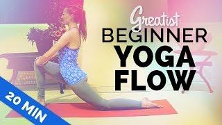 Video Beginner Yoga Flow for Greatist | Yoga for Total Beginners | 20-min MP3, 3GP, MP4, WEBM, AVI, FLV Maret 2018