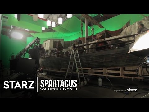 Spartacus Season 3 (Behind the Scene 'The Set')