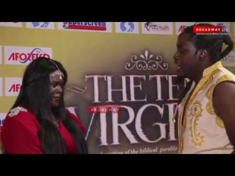 "Actor Propose To His Girlfriend At ""The Ten Virgins"" Movie Premiere"