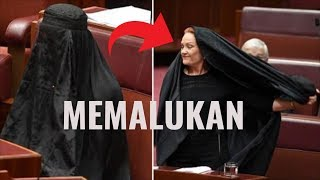 Video Anti-Islam Member of Australian Senate slammed for burqa 'stunt' in Parliament MP3, 3GP, MP4, WEBM, AVI, FLV Juli 2018