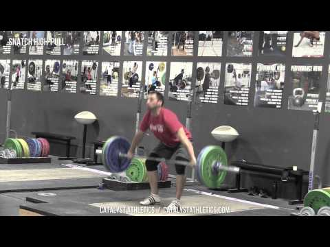 Snatch High-Pull - Olympic Weightlifting Exercise Library - Catalyst Athletics