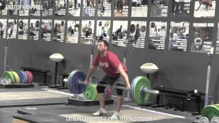 Snatch High-Pull - Snatch Exercis