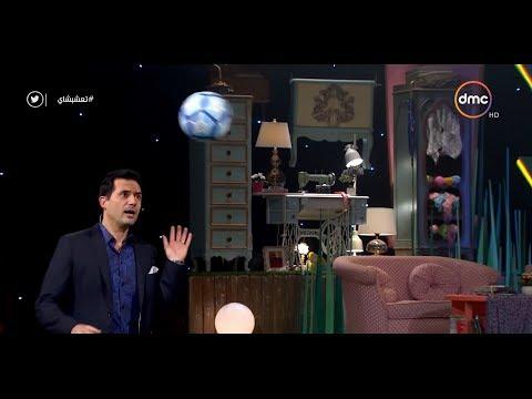 ظافر العابدين يسجل 3 أهداف بالرأس ويربح قميص المنتخب