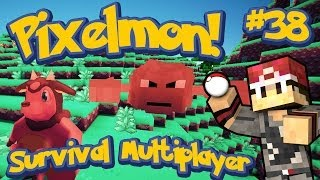 Pixelmon Survival Multiplayer Episode 38 - Extreme Hills Boss Madness