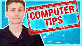 Video 15 Computer Tips and Tricks Everyone Should Know! MP3, 3GP, MP4, WEBM, AVI, FLV Juli 2018