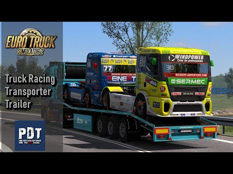 Truck Racing Transporter Trailer Ownership v1.0 1.34.x