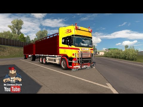 Cattle and Trailer Addon for Scania RJL 1.28.x