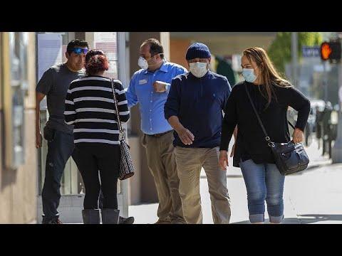Covid-19 : nouveau record de décès aux Etats-Unis, le port du masque recommandé
