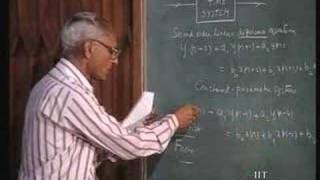 Lecture - 38 Discrete - Time Systems (1)