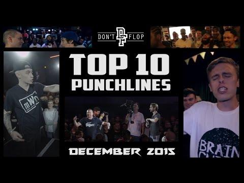 DON'T FLOP: TOP 10 PUNCHLINES | DECEMBER 2015 @DontFlop