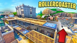 Video BUILDING AN EPIC ROLLERCOASTER in TILTED TOWERS in Fortnite MP3, 3GP, MP4, WEBM, AVI, FLV Agustus 2018