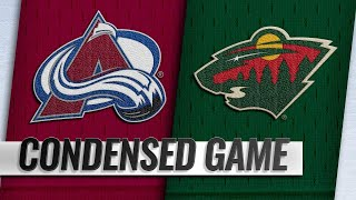 03/19/19 Condensed Game: Avalanche @ Wild