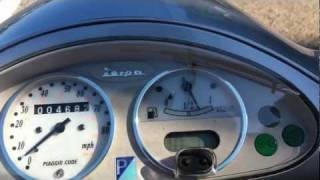 4. 2004 Vespa ET4 150