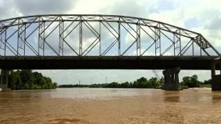 Red River Flood Water at Alexandria, Louisiana. June 28, 2015