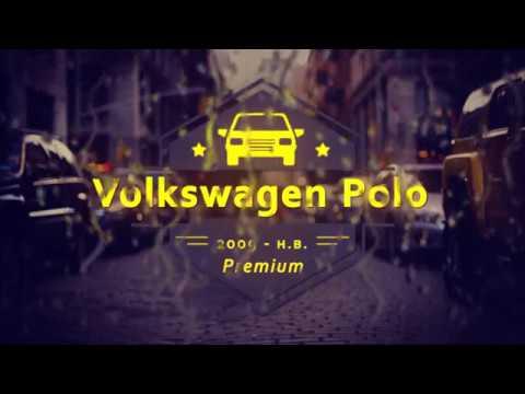 """Чехлы на Volkswagen Polo, серии """"Premium"""" - серая строчка"""