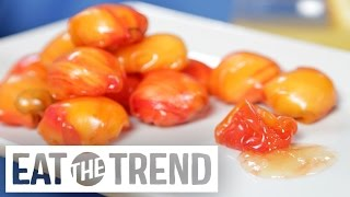 Champagne Mimosa Fruit Gushers | Eat the Trend by POPSUGAR Food