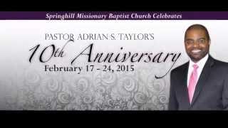Pastor's Anniversary Video #4