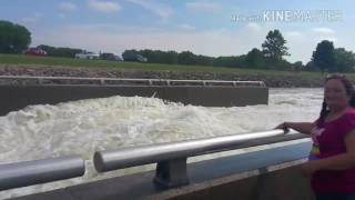El Dorado (KS) United States  City new picture : Eldorado Kansas Lake Spillway. Full Throttle...
