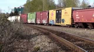 Tukwila (WA) United States  city photos : Northbound freight train in Tukwila, WA, 3-26-2015
