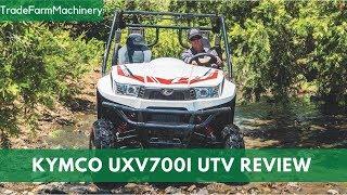 1. New Kymco UXV700i UTV test review
