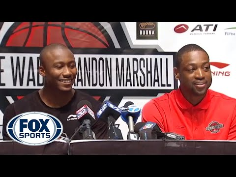 why - Dwyane Wade says a young basketball fan questioned him on his perceived flopping at the Dwyane Wade and Brandon Marshall Sports Academy.
